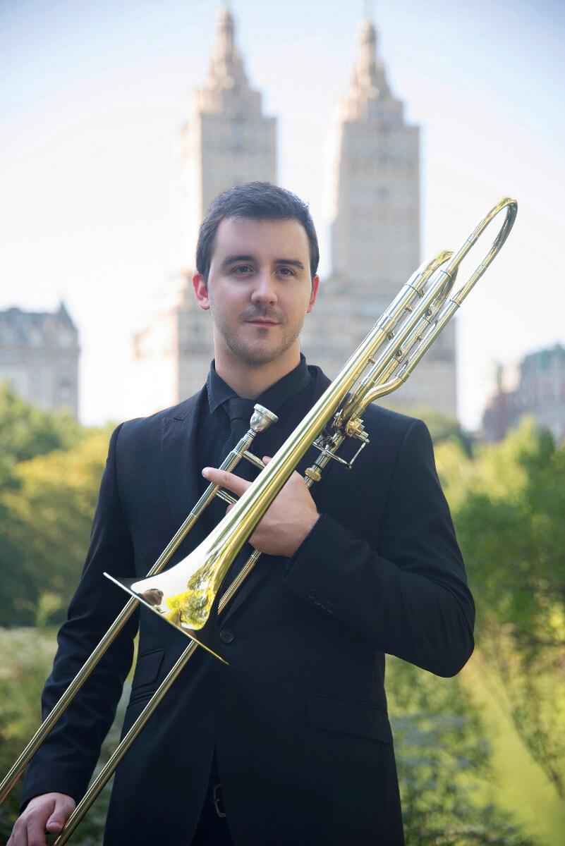 Ricardo Mollá, trombone player and composer