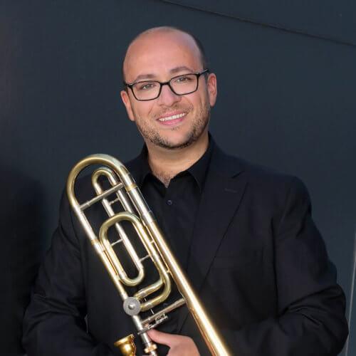 David Rejano, trombonista español