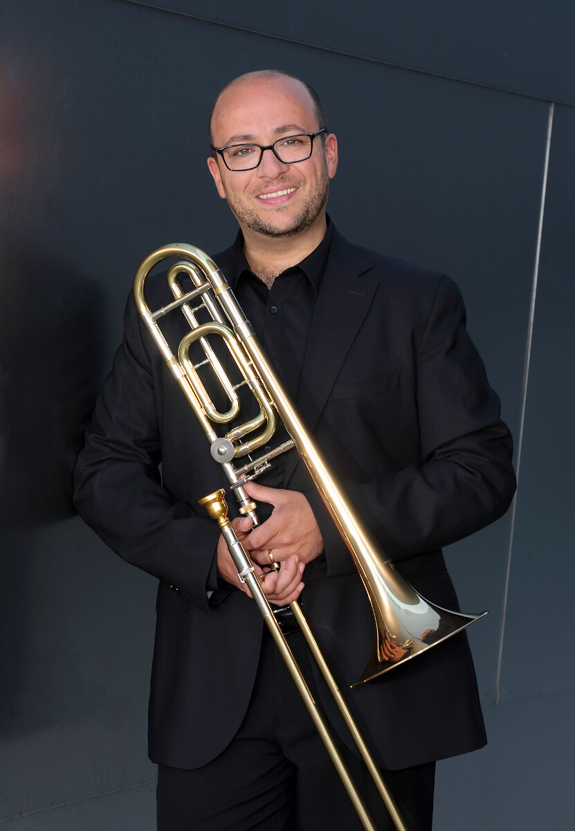 David Rejano, trombón Los Angeles Philharmonic