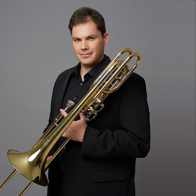 José Ángel Isla, trombonista Orquesta de Paris