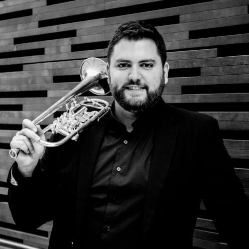 Alfonso Cantó, trompetista español