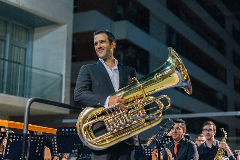 Javier Castaño Medina tuba