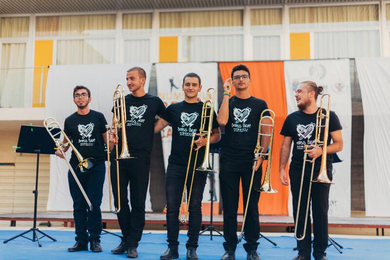Presentación: profesores del curso de trombón 2018