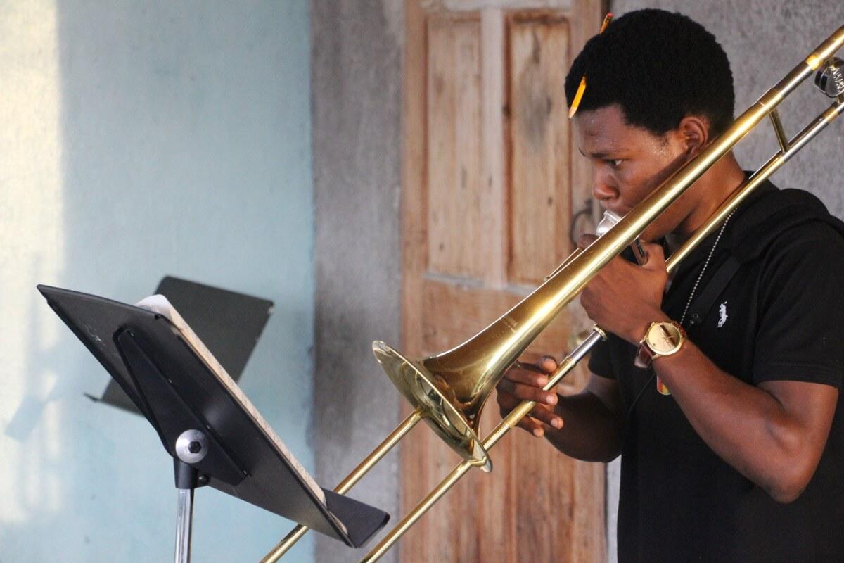 Una Navidad diferente. Asociación Música Anpil en Haití.