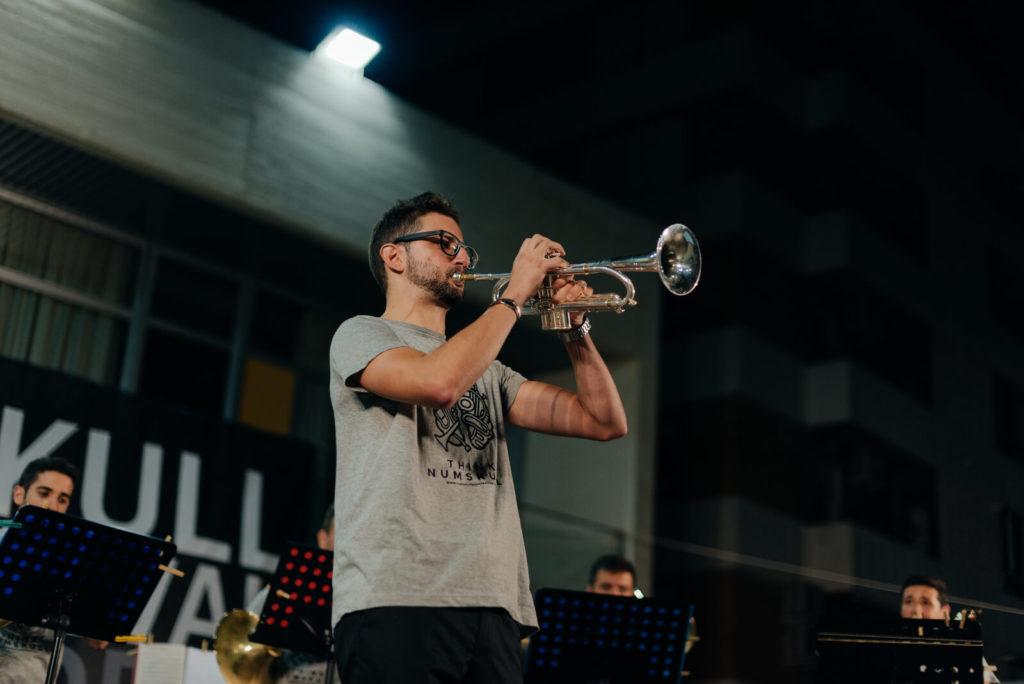 Javier Cantos, trompetista español