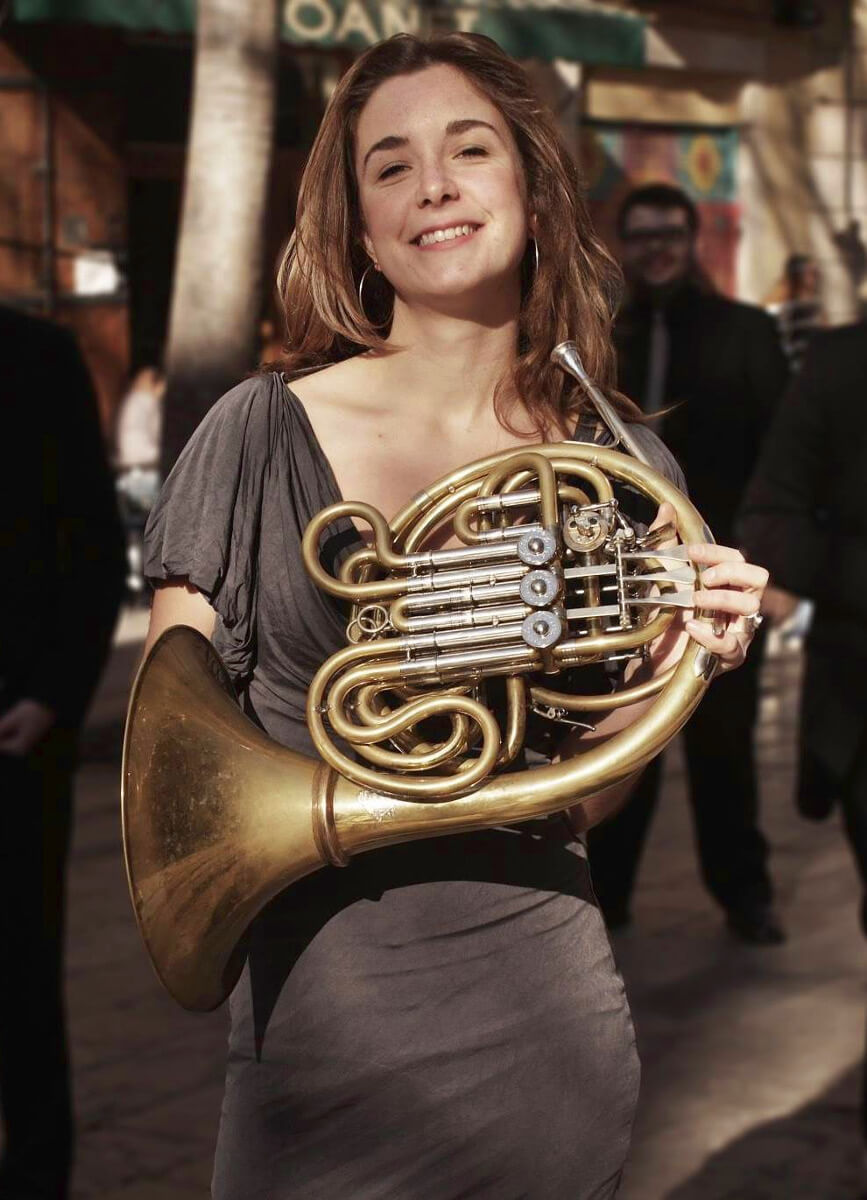 Anna Ferriol, trompa Swedish Radio Orchestra
