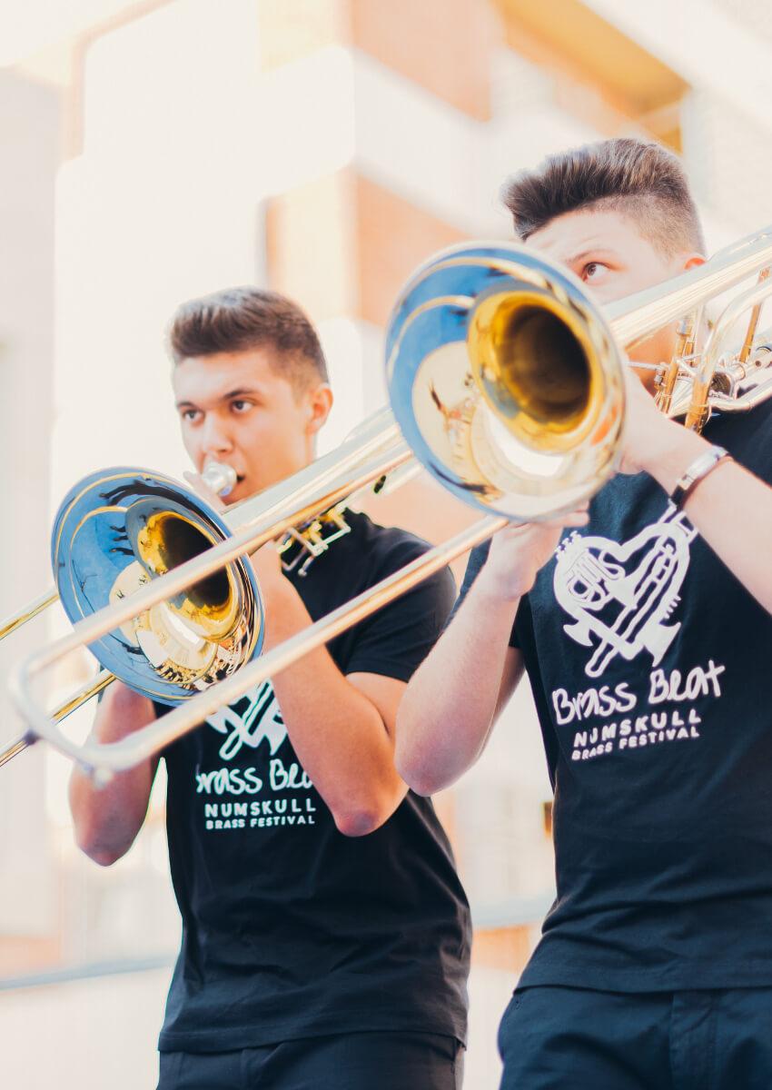 El mejor curso de música de viento metal de España