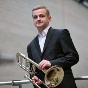 Karol Gajda, polish trombone player