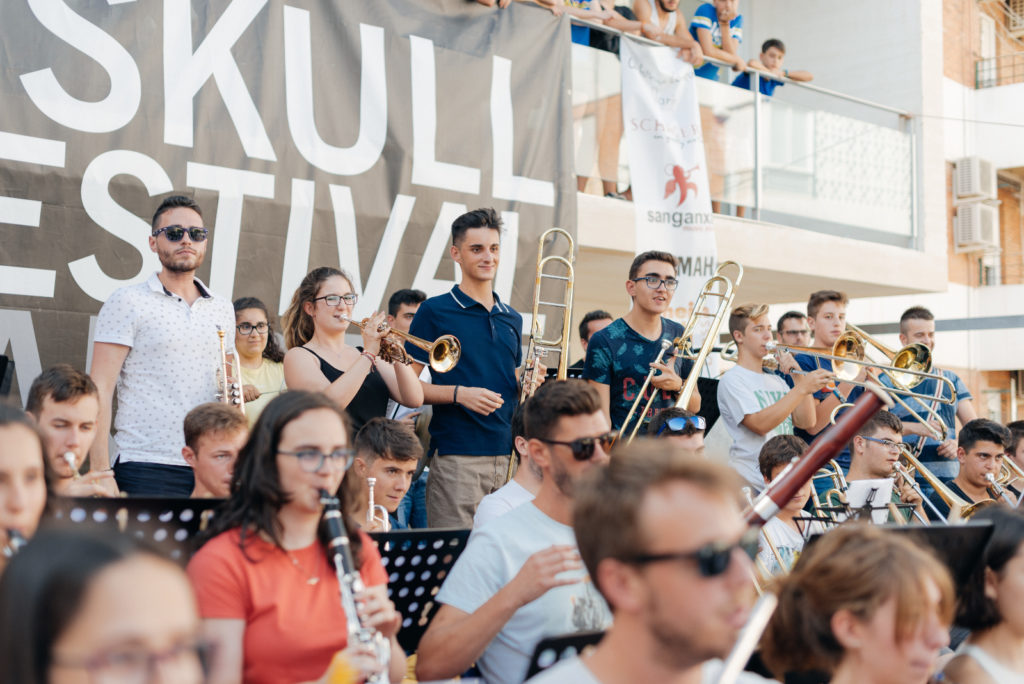 Curso de música orquestal en España