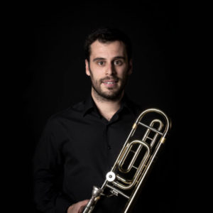 Juan Sanjuán, trombón solista de la Orquesta de la Comunidad de Madrid