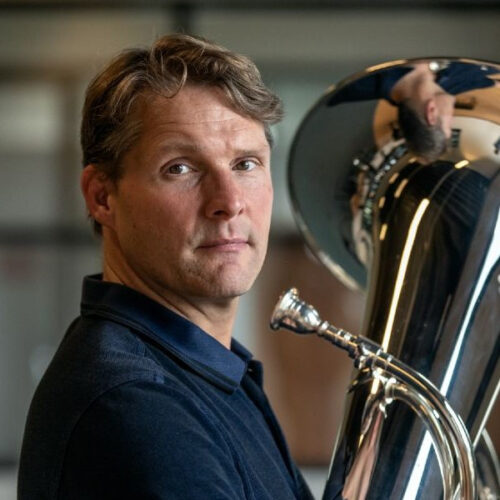 Perry Hoogendijk Tuba Player